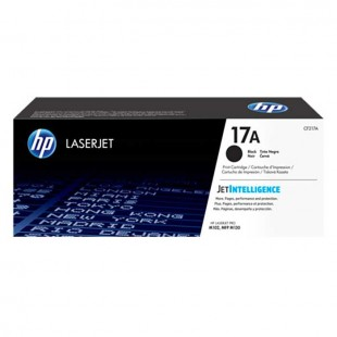 HP 17A Laserjet Black Cartridge