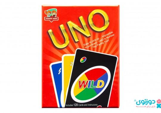 بازی فکری اونو 128 کارتی (Uno)