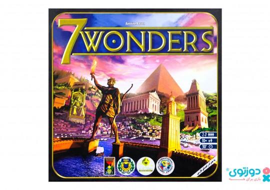 بازی فکری سون واندرز (7Wonders)