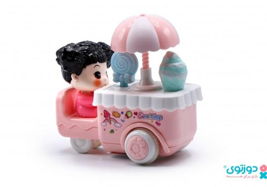 اسباب بازی قدرتی چرخ بستنی
