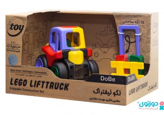لگو ماشین لیفتراک دوبی