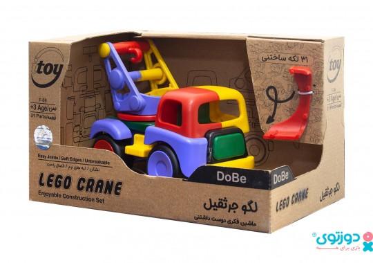 لگو ماشین جرثقیل دوبی