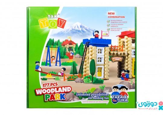 اسباب بازی پارک جنگلی 177 قطعه تک توی