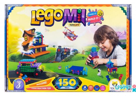 اسباب بازی لگو میل 150 قطعه (Lego Mil)