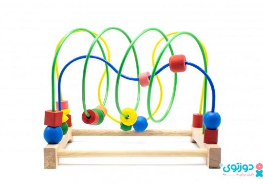 اسباب بازی نوزاد پیچ و خم
