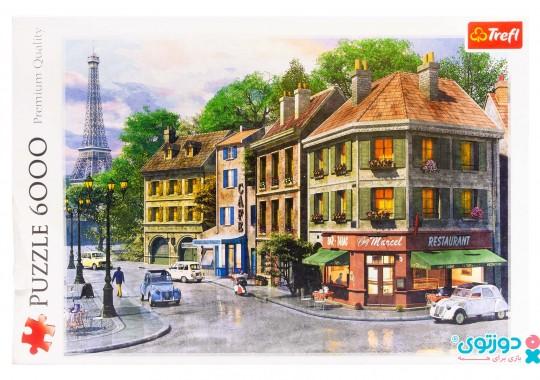 پازل ترفل 6000 تکه طرح خیابان پاریس 65001