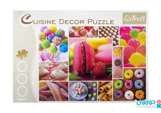 پازل ترفل ۱۰۰۰ تکه طرح شیرینی و شکلات ۱۰۳۵۷