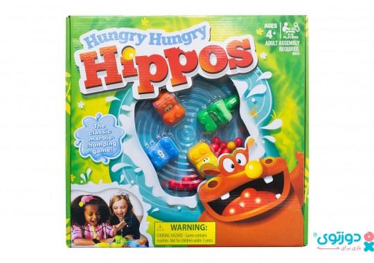 اسباب بازی اسب آبی گرسنه (Hungry Hippos)