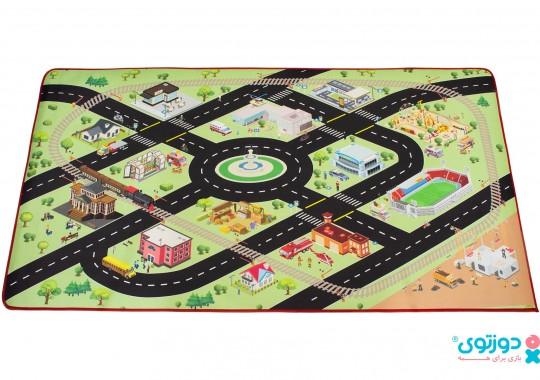 فرش بازی کودک (شهر پارچه ای) 1