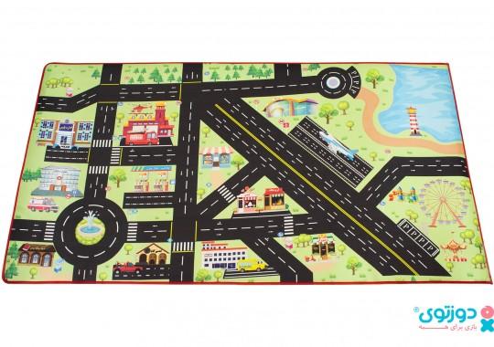 فرش بازی کودک (شهر پارچه ای) 2