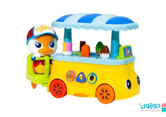 اسباب بازی نوزاد چرخ بستنی هالی تویز 6101