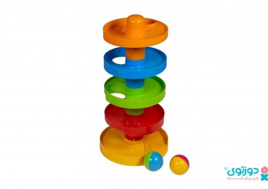 اسباب بازی نوزاد توپ و سرسره