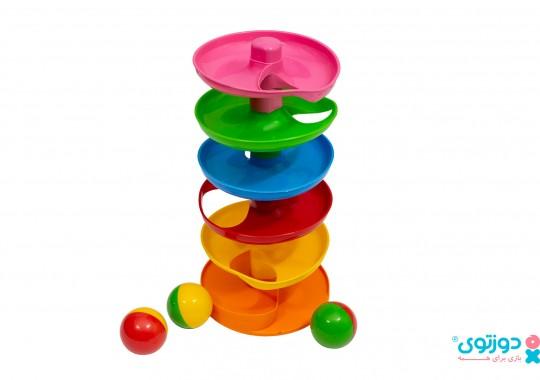 اسباب بازی نوزاد برج توپ