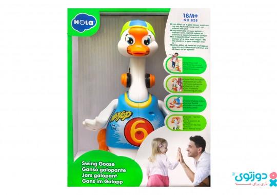 اسباب بازی موزیکال نوزاد اردک رقاص هولا 828