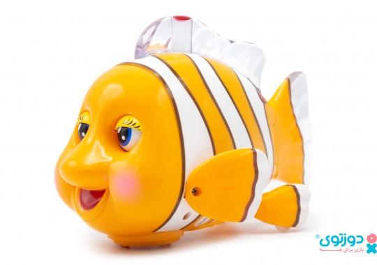 اسباب بازی نوزاد دلقک ماهی موزیکال هالی تویز 998