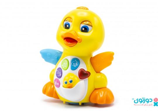اسباب بازی نوزاد موزیکال اردک هولی تویز 808
