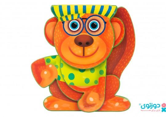 کتاب کودک میمون اومد آب بخوره