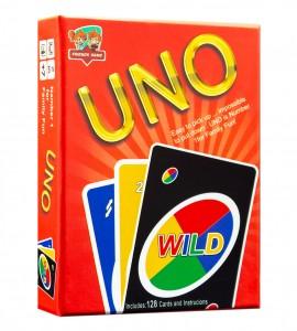 خرید بازی فکری اونو 128 کارتی (Uno)