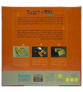 بازی فکری ticket to ride