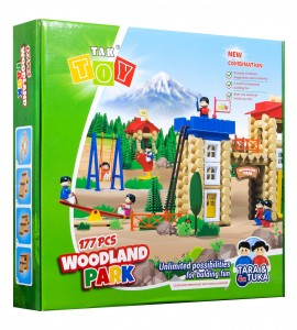 خرید اسباب بازی پارک جنگلی 177 قطعه تک توی