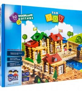 قیمت اسباب بازی خانه جنگلی 92 قطعه تک توی