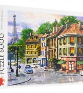 خرید پازل ترفل 6000 تکه طرح خیابان پاریس 65001