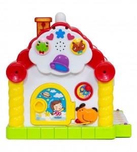 قیمت اسباب بازی نوزاد خانه موزیکال جایگذاری اشکال هولی تویز 739