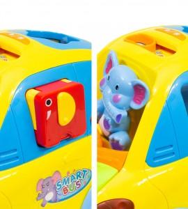بررسی اسباب بازی نوزاد ماشین موزیکال جایگذاری اشکال هولا 896