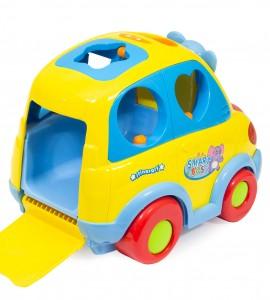 مشخصات اسباب بازی نوزاد ماشین موزیکال جایگذاری اشکال هولا 896