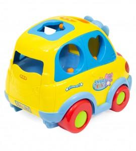 اسباب بازی نوزاد ماشین موزیکال جایگذاری اشکال هولا 896