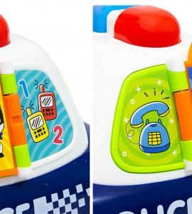 بررسی اسباب بازی نوزاد ماشین پلیس هولا ۶۱۰۸