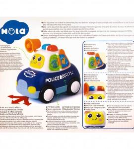 اسباب بازی نوزاد ماشین پلیس هولا ۶۱۰۸
