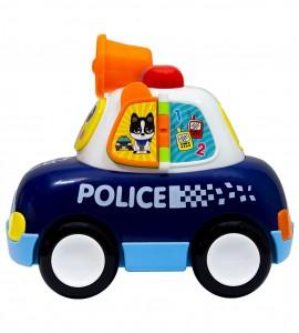 خرید اسباب بازی نوزاد ماشین پلیس هولا ۶۱۰۸
