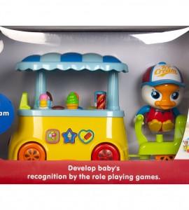 مشخصات اسباب بازی نوزاد چرخ بستنی هالی تویز 6101