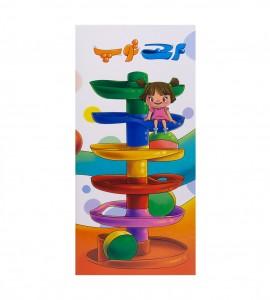 خرید اسباب بازی نوزاد برج توپ