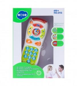 قیمت اسباب بازی نوزاد کنترل هولا 3113