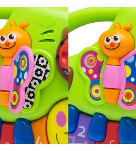 قیمت اسباب بازی نوزاد موزیکال کرم و کفشدوزک هولا 927