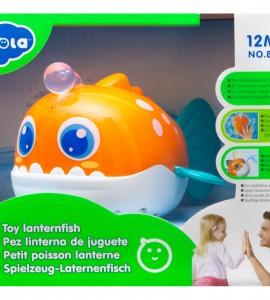 اسباب بازی حمام نوزاد ماهی چراغی هولا 8103