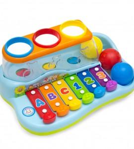 خرید اسباب بازی کودک بلز، توپ و چکش هولا 856