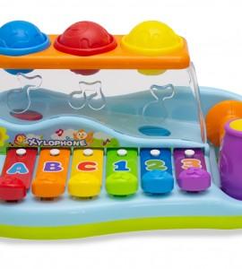 قیمت اسباب بازی کودک بلز، توپ و چکش هولا 856
