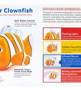 بررسی اسباب بازی نوزاد دلقک ماهی موزیکال هالی تویز 998