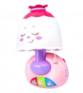 خرید چراغ خواب موزیکال نوزاد هولا 1107
