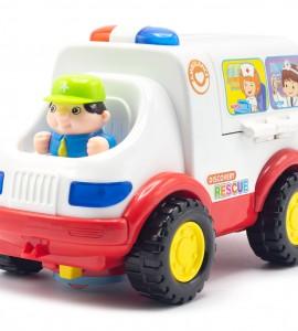 قیمت اسباب بازی آمبولانس هولی تویز 836
