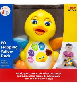 خرید اسباب بازی نوزاد موزیکال اردک هولی تویز 808