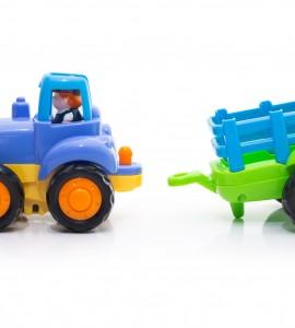 خرید اسباب بازی تراکتور قدرتی هالی تویز