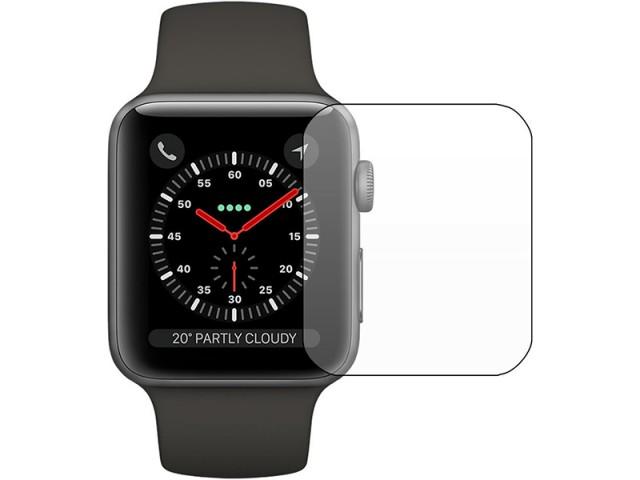 محافظ صفحه نمایش بوف مدل Silicone مناسب برای ساعت هوشمند اپل واچ 42mm