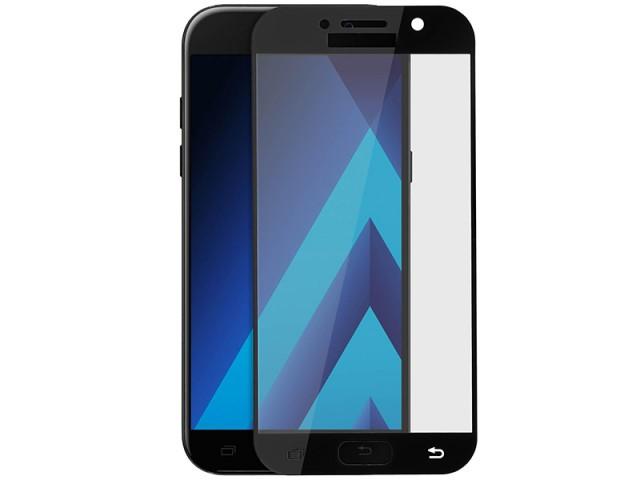 محافظ صفحه نمايش تمام چسب مدل Full Cover مناسب برای گوشی موبايل سامسونگ A5 2017