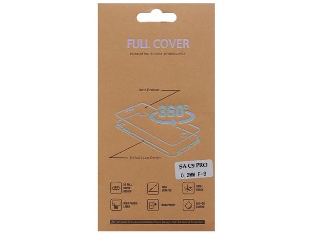برچسب نانو صفحه نمايش جلو و پشت گوشی مدل Full Cover مناسب برای گوشی موبایل سامسونگ C9 Pro