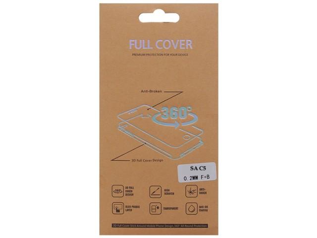 برچسب نانو صفحه نمايش جلو و پشت گوشی مدل Full Cover مناسب برای گوشی موبایل سامسونگ C5