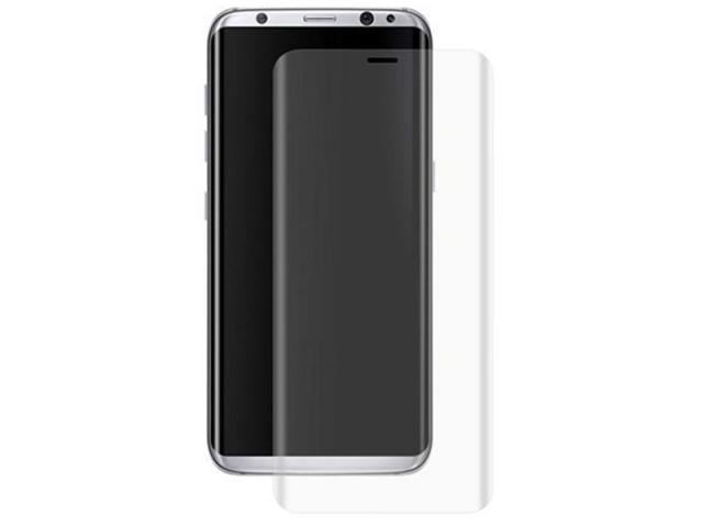 محافظ صفحه نمايش دور چسب Full Glass مناسب برای گوشی موبايل سامسونگ S8 Plus